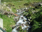 Cascade sur la route des lacs - St Lary Soulan