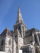 Cathédrale d'autun le clocher