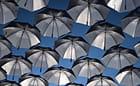cent parapluies sans pluie