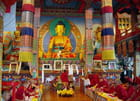 Cérémonie bouddhiste en Bourgogne