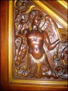 Chaire de prêche de La Madeleine (Détail)