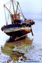 Chalutier à Erquy aout 1986