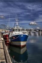 Chalutier au port...