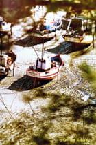 Chalutiers Port de Erquy aout 1980