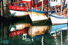 Chalutiers Port de Erquy aout 1986