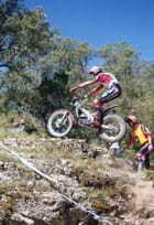 Championnat de France Trial moto à Quissac