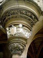 Chapelle du Musée de Cluny (bas-relief)