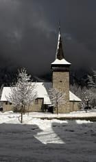 Chapelle en Neige