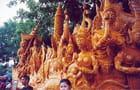 Char en cire - Careme bouddhiste