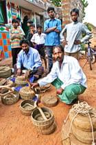 chasseurs de serpents en Orissa