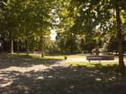 Le parc du château de Prangins