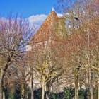 Château, tour carrée