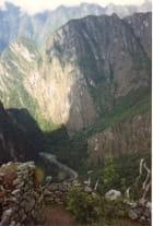Chemin dans Les Andes