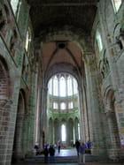 Choeur gothique flamboyant de l'église abbatiale (1)