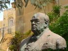 Churchill au jardin