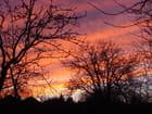 Ciel coloré de janvier
