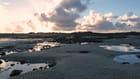 Ciel nuageux sur les côtes bretonnes