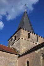 Clocher de St Pierre de Dompierre en Morvan