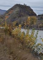 Colline de Tourbillon en automne