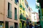 Collioure - rue typique