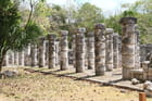 Colonnades de Chichen-Itza