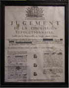 Condamnation en 1793