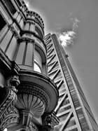 contraste architectural londonien