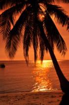 Coucher de soleil à Koh Samui
