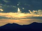 coucher de soleil sur l'estérel
