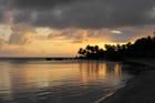 Coucher de soleil sur les Îles Caïmans