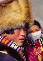 Couple de jeunes Tibétains