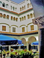 Cour de l'hôtel El Minzah (ancien palais)
