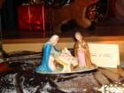 Crèche de Noël d'Italie