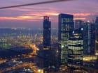 Crépuscule sur Singapour