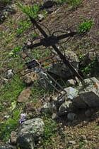 Croix dans le cimetière de La nouvelle