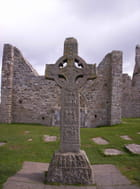 Croix gaélique à Clonmacnoise