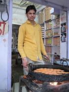 Cuisine de rue à Mandawa (Inde)