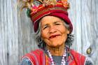 Dame Ifugao au sourire avenant
