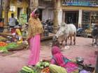 Dans le marché de Jaisalmer