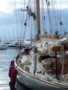 Dans le port de St Tropez