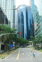 dans les rues de Singapour