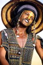 Danseur Bororo à la fête du Gerewol