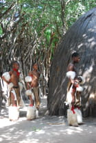 Danseurs du village Zoulou