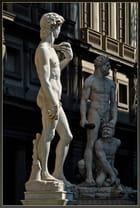 David, Hercule et Cacus