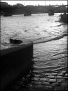 Début avril, la Seine est en crue