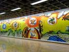 Décor du métro
