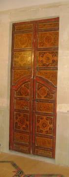 décoration ancienne porte