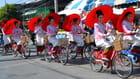 Defilé de miss fete de ombrelles
