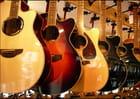 Des guitares qui flattent le regard...