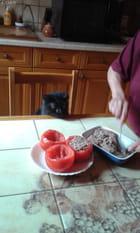 Des tomates farcies rien que pour moi...